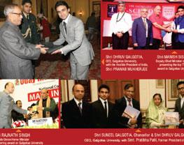 award-rec-thu president pranav mukharjee